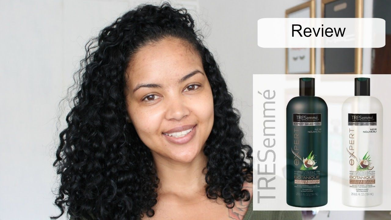 First Impression Tresemme Botanique South African