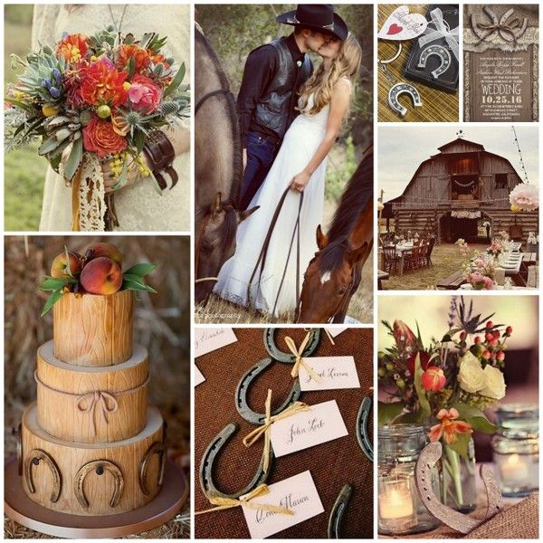 Cowboy Cowgirl Wedding Ideas: Wild West Wedding Is One Of The Hottest New Wedding Themes