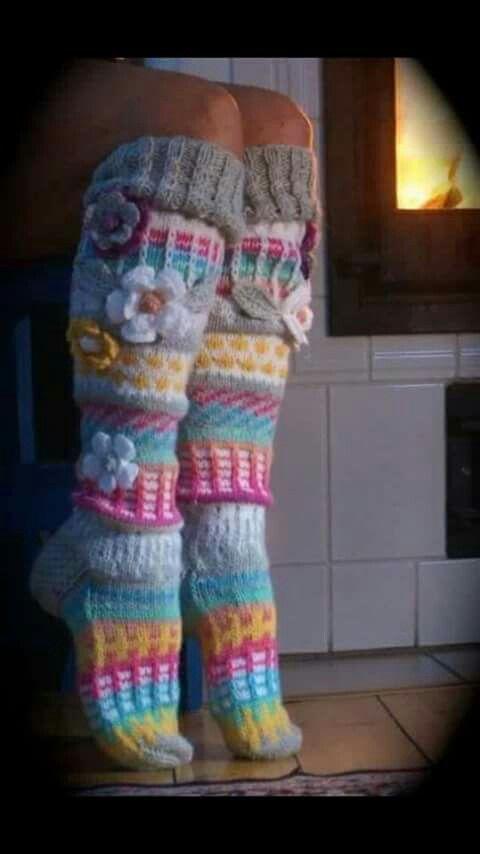 Heerlijk warme alsook prachtige sokken!