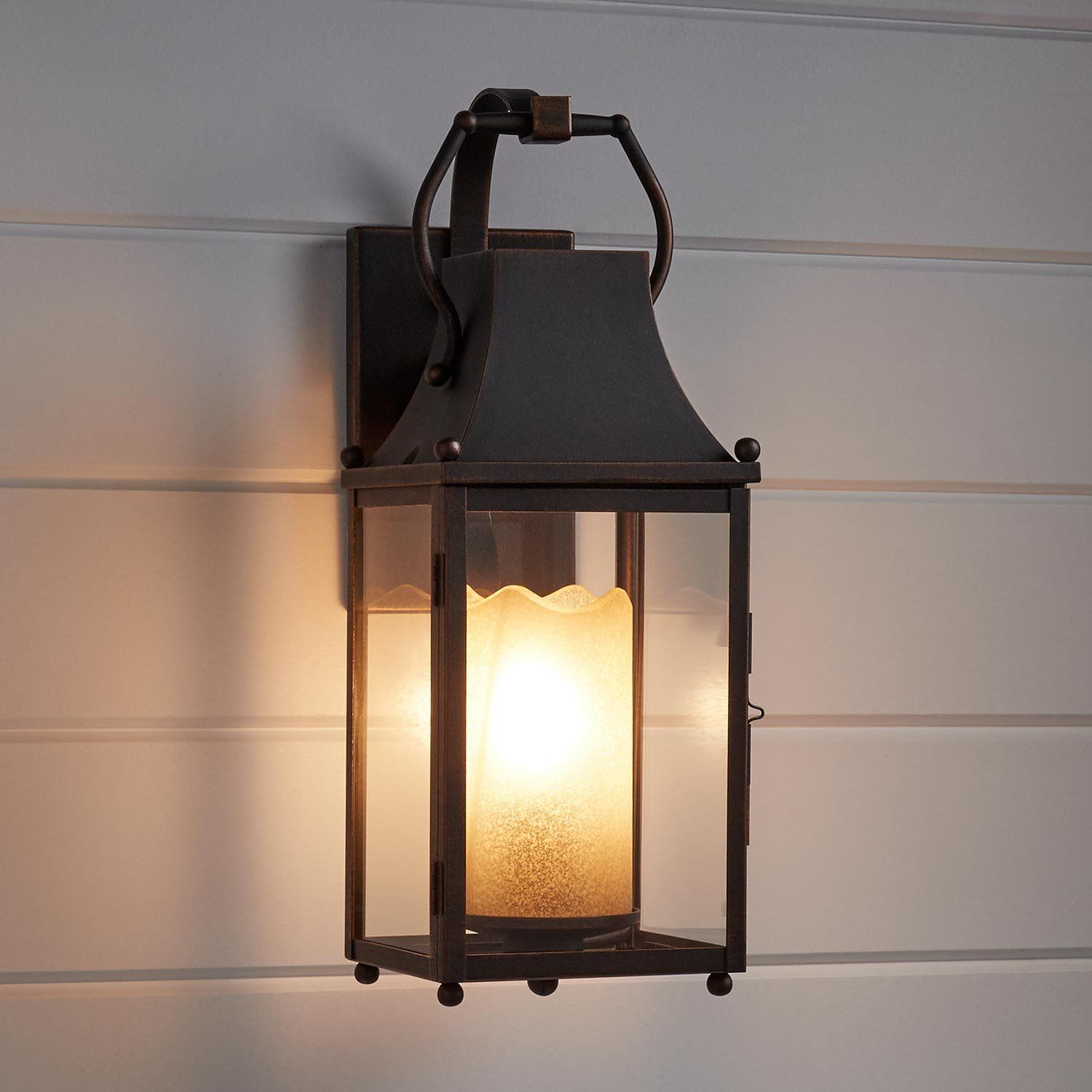 Whitby Bronze Outdoor Entrance Wall Sconce Aluminum Signature Hardware Sconces Wall