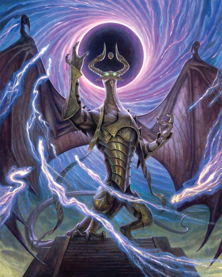 Mtg Magic The Gathering Nicol Bolas War Of The Spark Mtg Art Magic Art Dragon Artwork