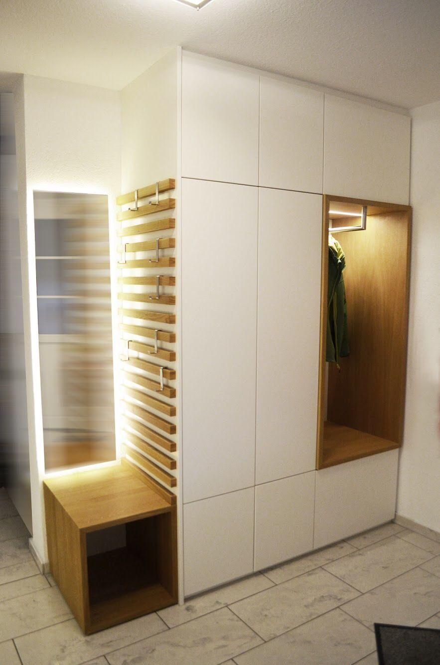 Pin Von Sandie Ferreira Auf Entree In 2020 Garderoben Eingangsbereich Einbauschrank Garderobe Haus Design Plane