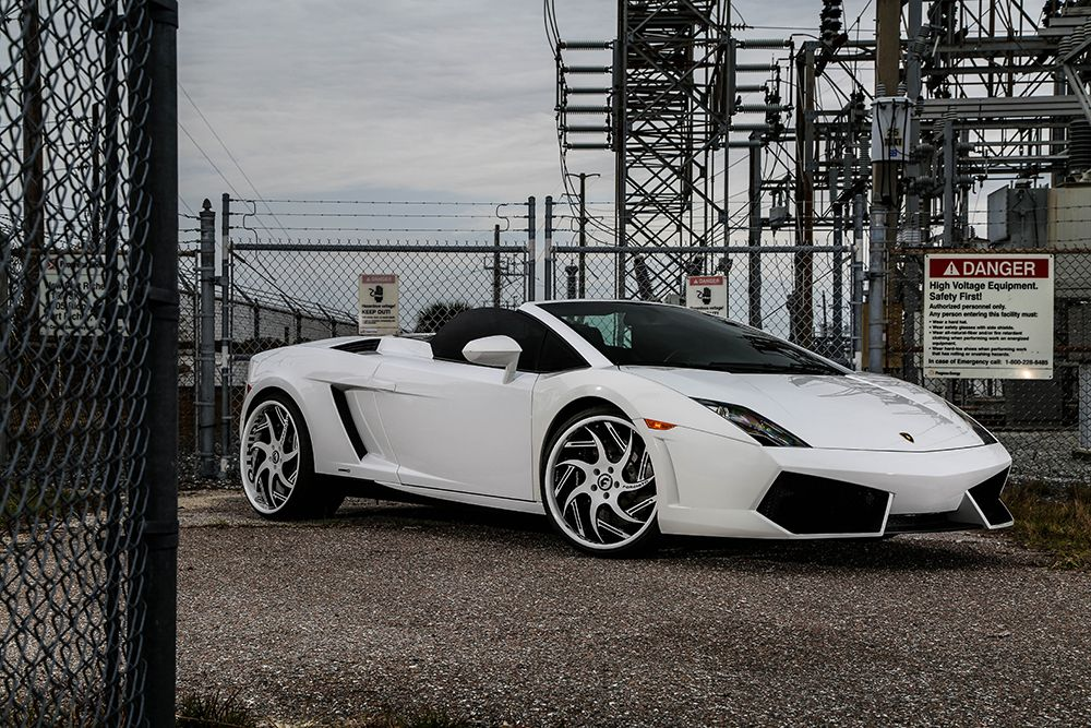 Lamborghini Gallardo On Girare ECL | Forgiato