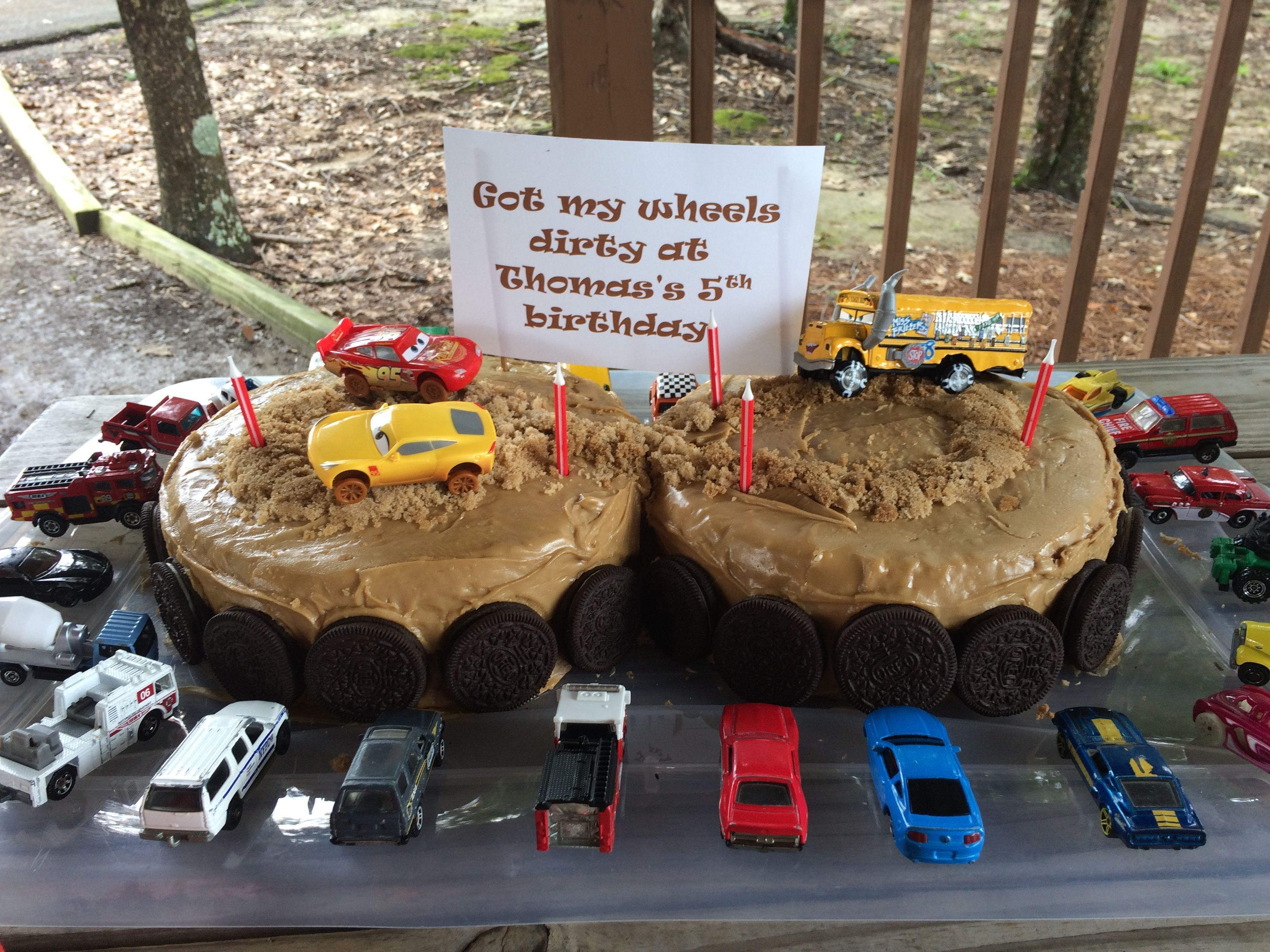 Cars 3 Birthday Cake Thunder Hollow