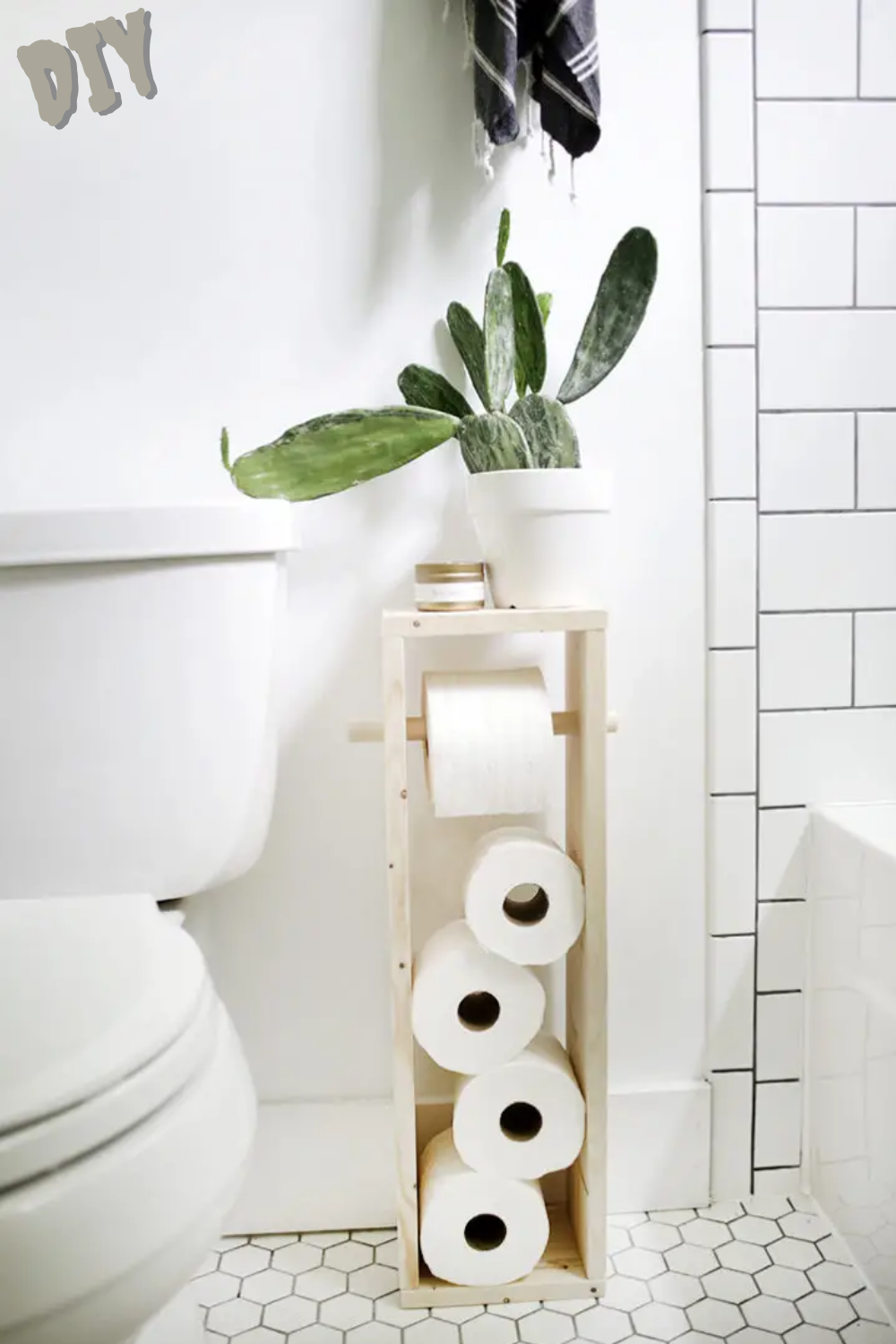 40 Creative Ways To Store Toilet Paper In Small Spaces That Never Crossed Your Mind In 2020 Diy Toilet Paper Holder Toilet Paper Stand Diy Toilet