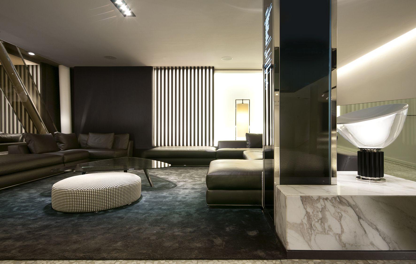 Hotel Astoria Lucern Switzerland Reception Lobby Lighting