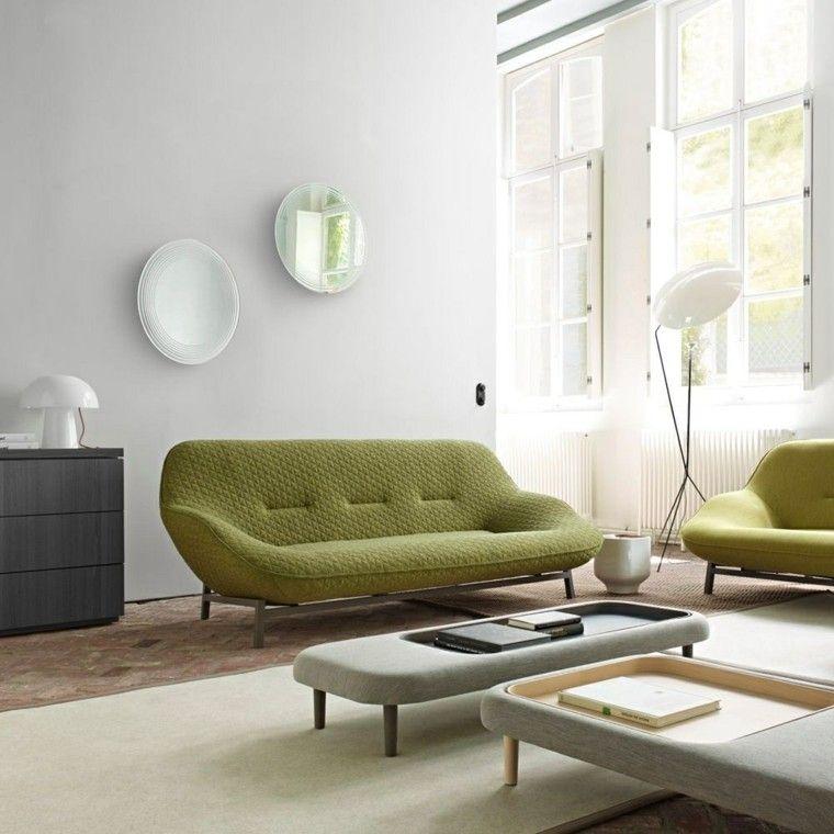 Canapé Moderne : 75 Modèles Pour Un Salon Tendance | Salons