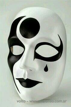 Plain White Mask Designs