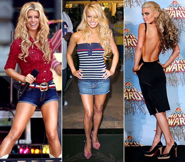Jessica Simpson Keeps The Weight Off: Jessica Simpson's Body Evolution