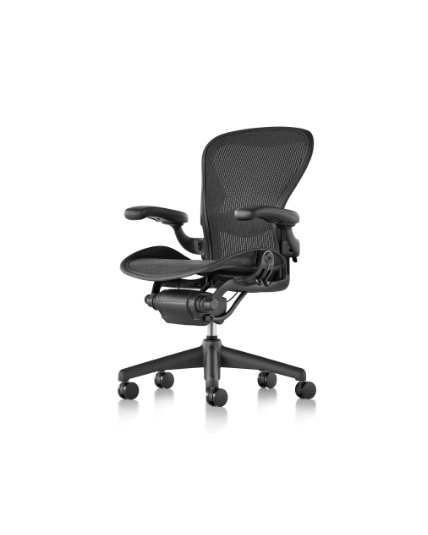 Herman Miller Aeron Chair Size B All Features Fully Adjustable Arms Tilt Limiter And Seat Angle Adjustable Lumbar Support Chair Lumbar Support Herman Miller Aeron Chair