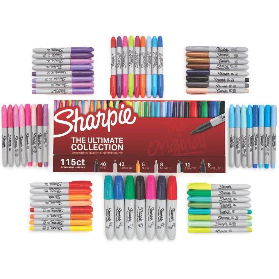 Sharpie Ultimate Collection 115pc Target Coisas De Papelaria