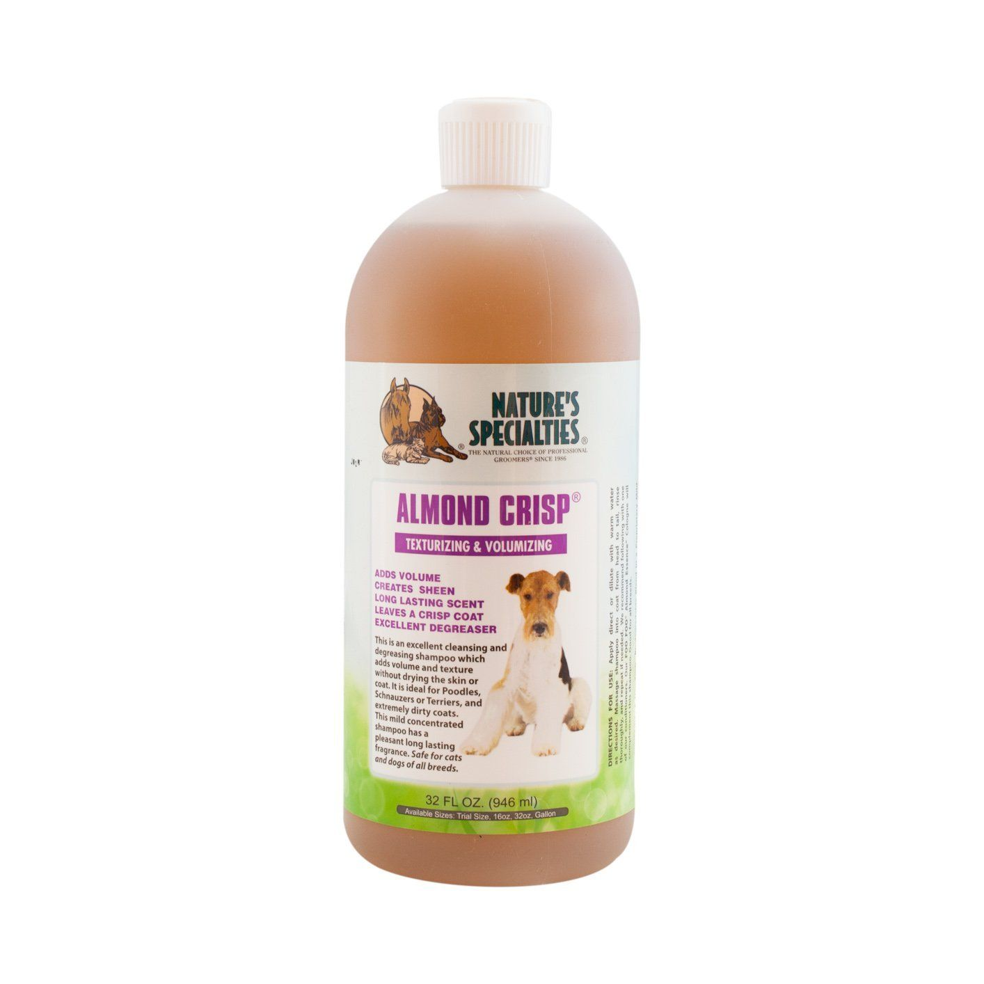 Nature S Specialties Almond Crisp Pet Shampoo 32 Ounce New And Awesome Dog Product Awaits You Read It N Pet Shampoo Dog Grooming Supplies Dog Food Storage