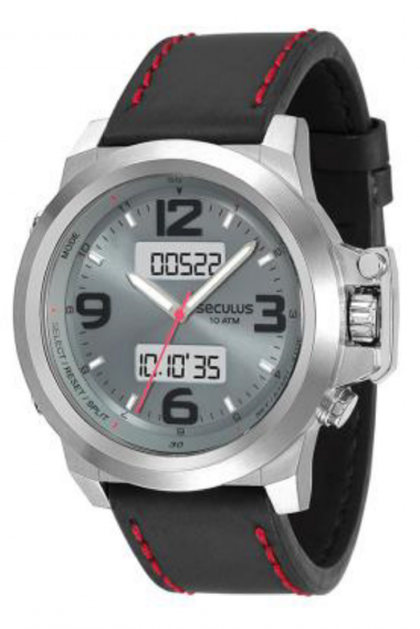 d631941a0e5 13007G0SVNC2 Relógio Masculino Esportivo Seculus Anadigi