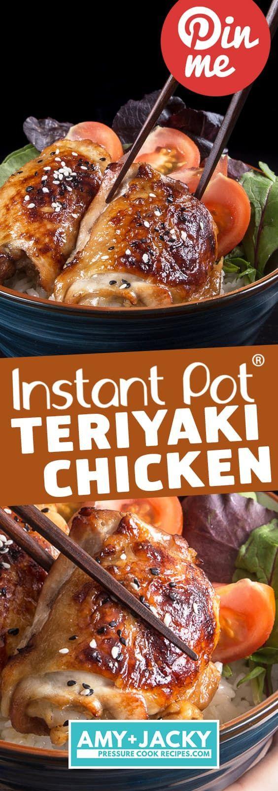 Instant Pot Teriyaki Chicken #ricecookermeals