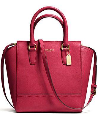 47b95c03fb COACH MINI TANNER IN SAFFIANO LEATHER - COACH - Handbags & Accessories -  Macy's