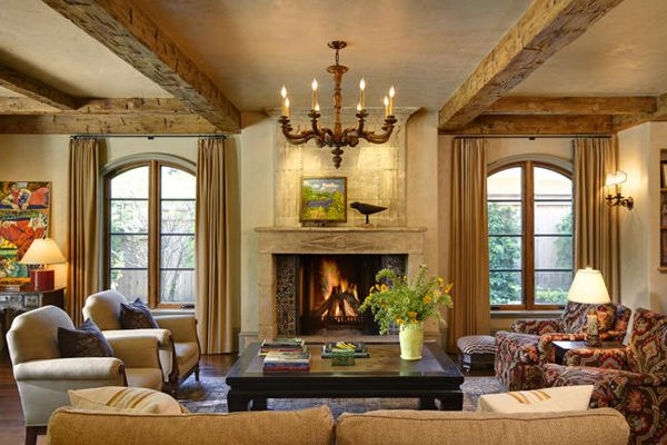 Warm And Cozy Living Room Design Craig Dugan