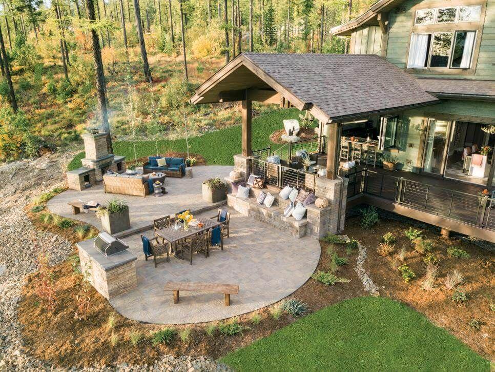 Inside HGTV's Dream Home 2019 PHOTOS - | Backyard patio ... on Dream House Backyard id=59891