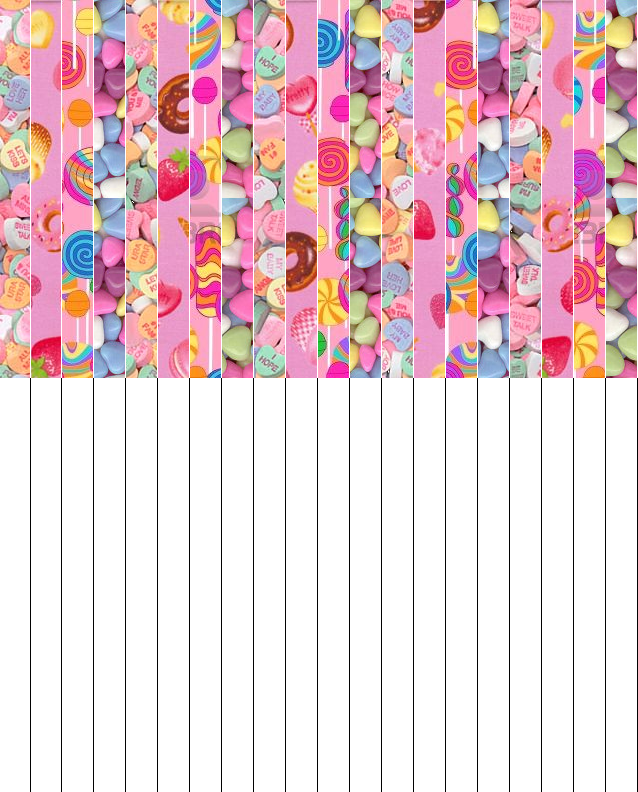 Candy Lucky Stars Paper By L Lawliet Bb Paper Stars Paper