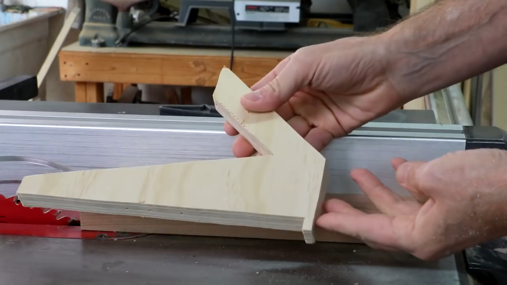 Push Stick for Table Saw Bois