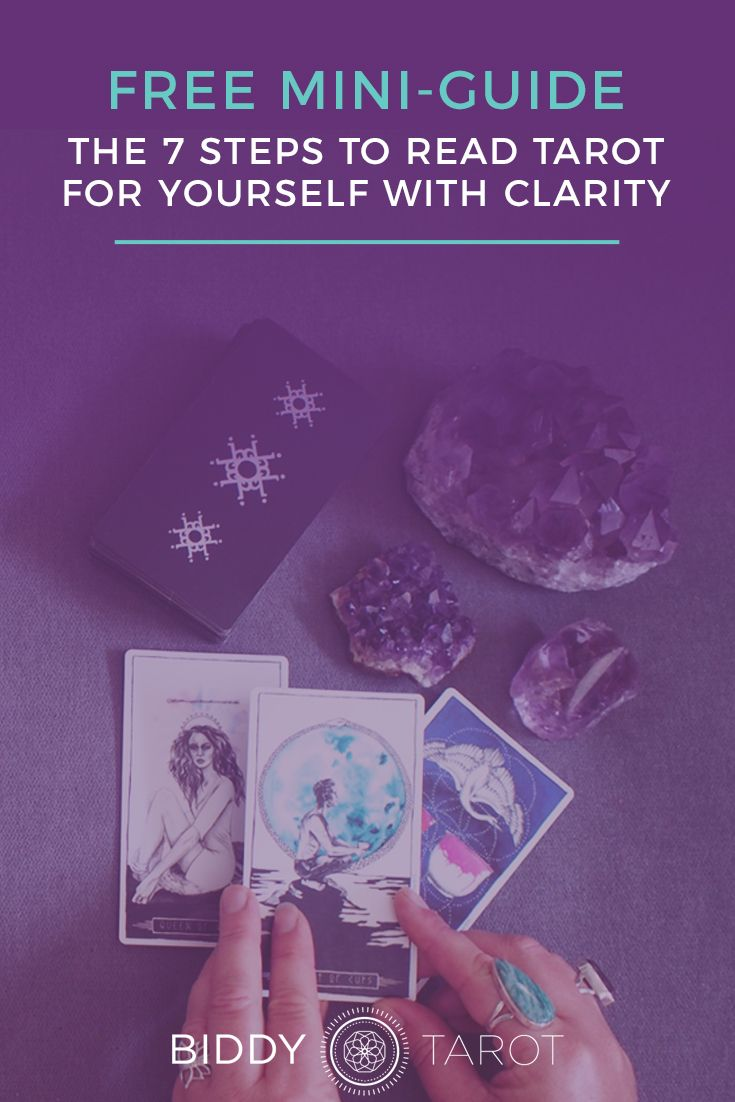 Free miniguide 7 steps to read tarot for yourself with