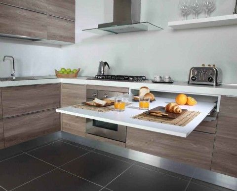Pull Out Kitchen Tables Pull out table from cabinet google search tiny dwelling pull out table from cabinet google search workwithnaturefo