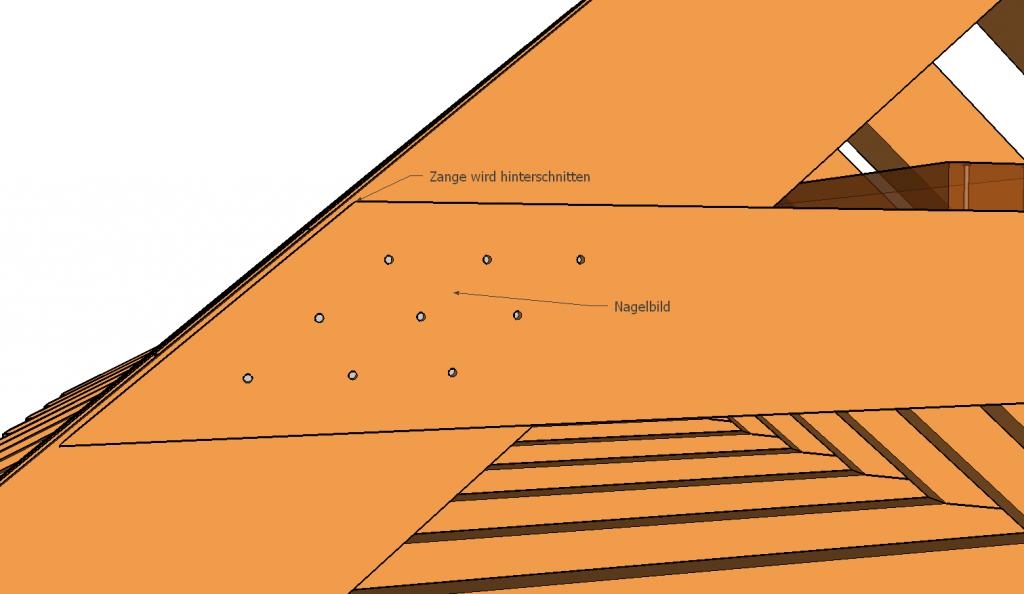 kehlbalkendach zangenausbildung holzhaus und co pinterest dachkonstruktion und holzh uschen. Black Bedroom Furniture Sets. Home Design Ideas
