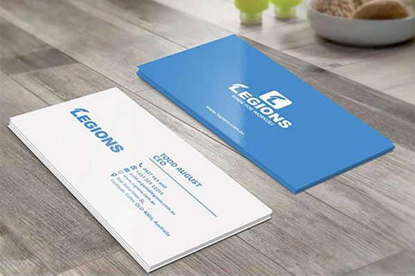 Minimal Business Cards Designs For Inspiration  Business Cards