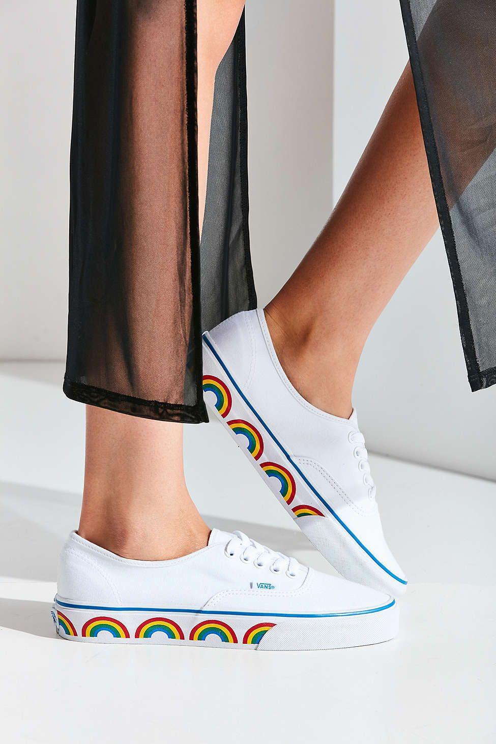 a06dc04c499e Vans Authentic Rainbow Sole Sneaker in 2019