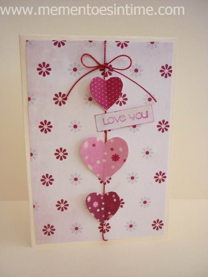 Charming Love Card Making Ideas Part - 4: Valentineu0027s Day Cards - Love Bird Collection Plus Free Candy Jar Template