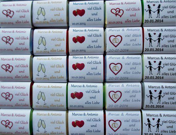 50 Schokoladentäfelchen eigener Druck Werbung für die