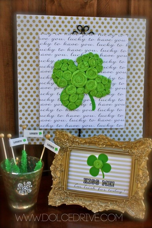 50 Best Saint Patrick S Day Crafts And Recipes Craft Ideas