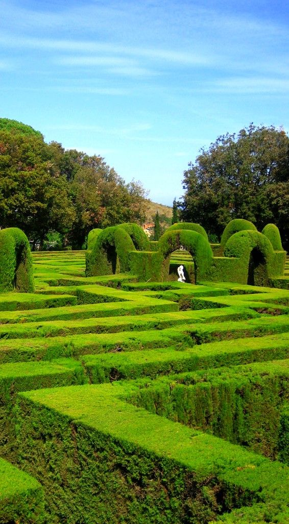 If you go to Barcelona and get tired of looking up to the impressive buildings by Gaudi, then it's time to test your orientation skills and live an exciting challenge in the Horta Maze, a 18th century labyrinth and oldest garden in the city. Take a book or your favourite playlist and get swept away.