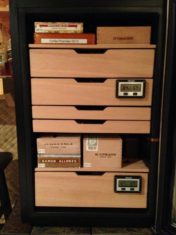 Wineador Wine Cooler To Cigar Humidor Conversion Best Wine Coolers Cigar Humidor Wine Cooler
