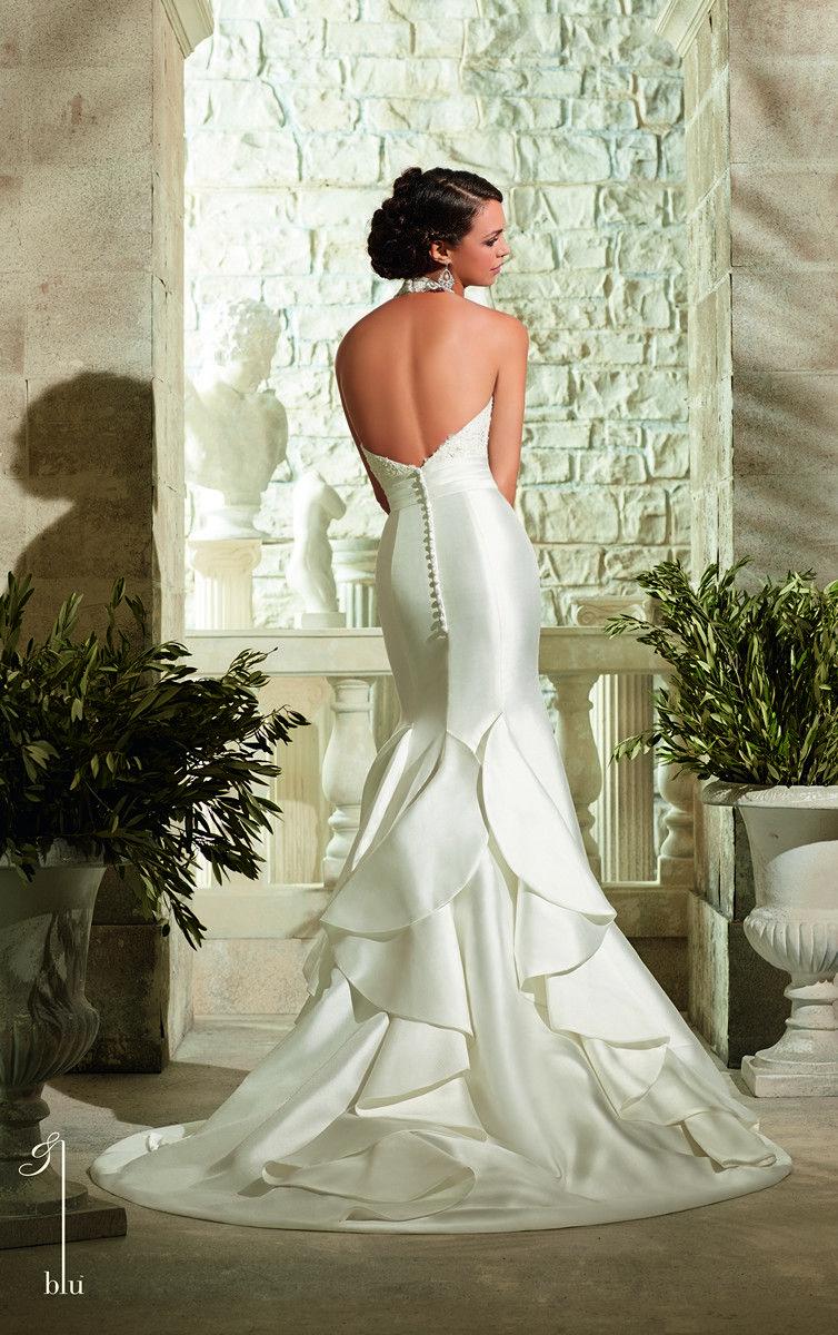 Mori lee blu bridal gown gowns i love pinterest mori lee