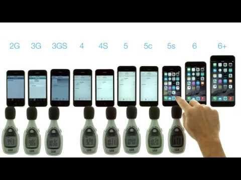 Speaker Volume Test IPhone 6 Plus Vs 5s 5c 5