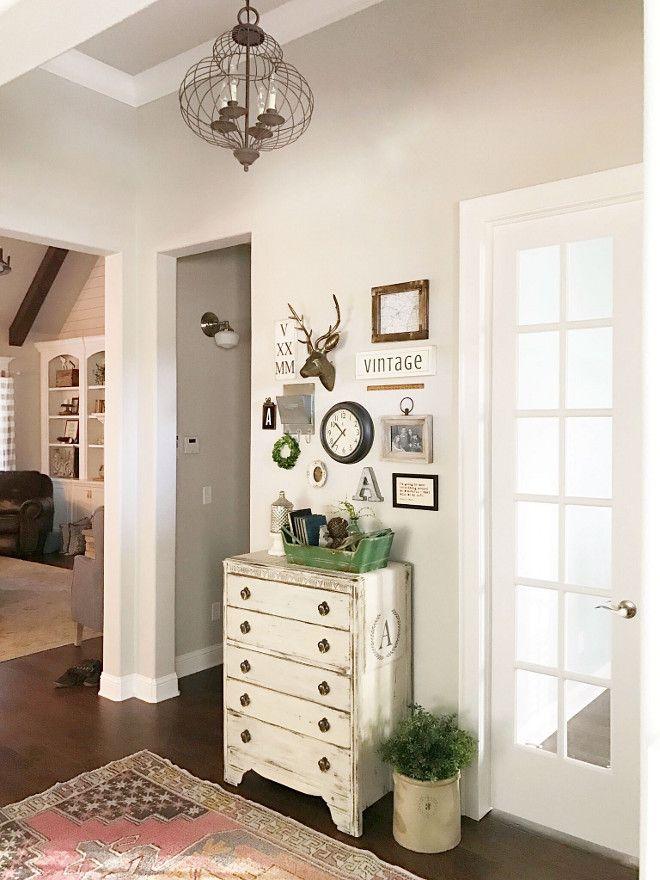Farmhouse foyer decor and wall gallery. farmhouse foyer decor and ...