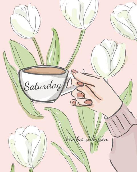 Thoughts · Saturday CoffeeWallpaper DesignsHello WeekendHappy ...
