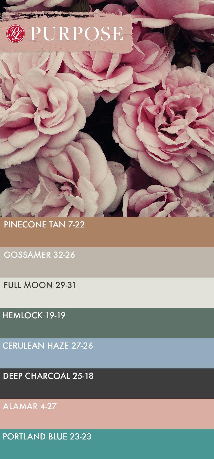 From Pratt \u0026 Lambert\u0027s 2017 Color Trends, Purpose is a palette ...