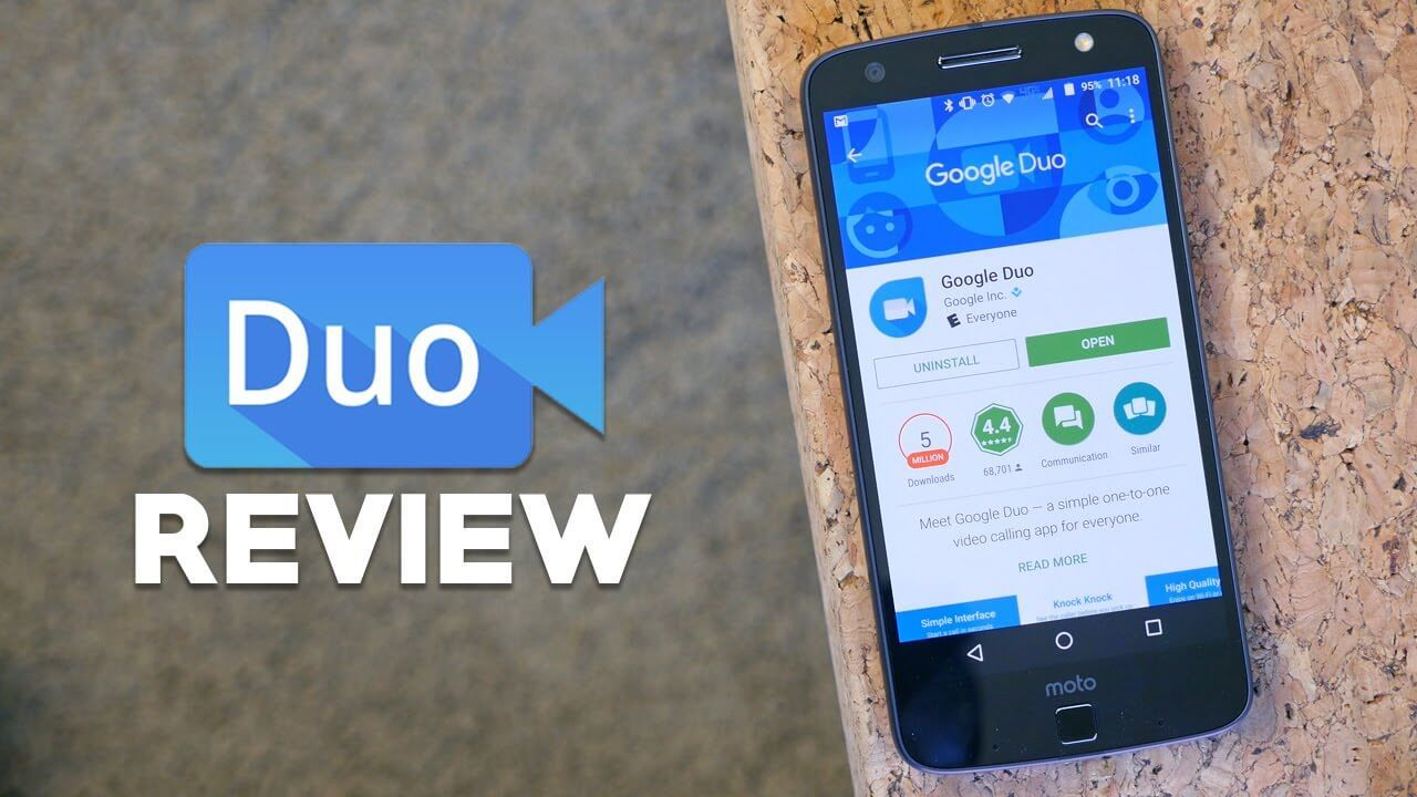 Google Duo 70.0 Free Video Calling App App, Android