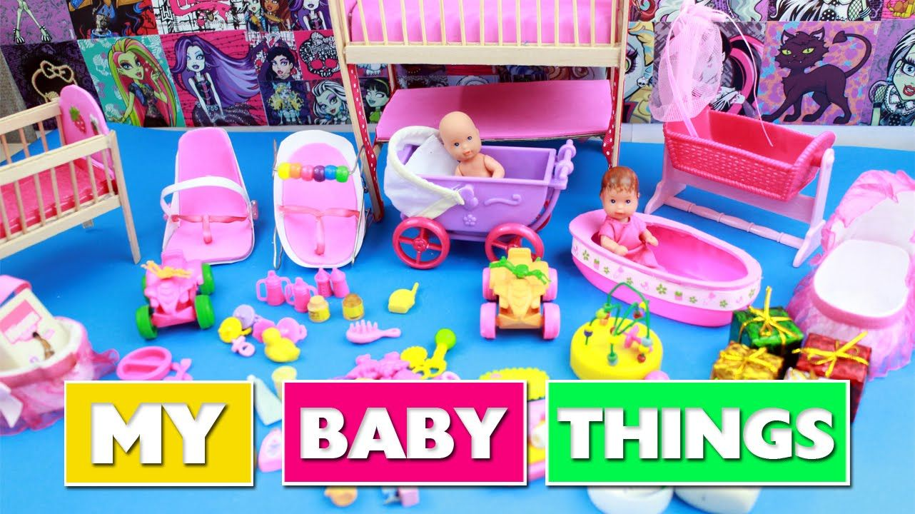 All of My DIY Miniature Baby Crafts so far crib