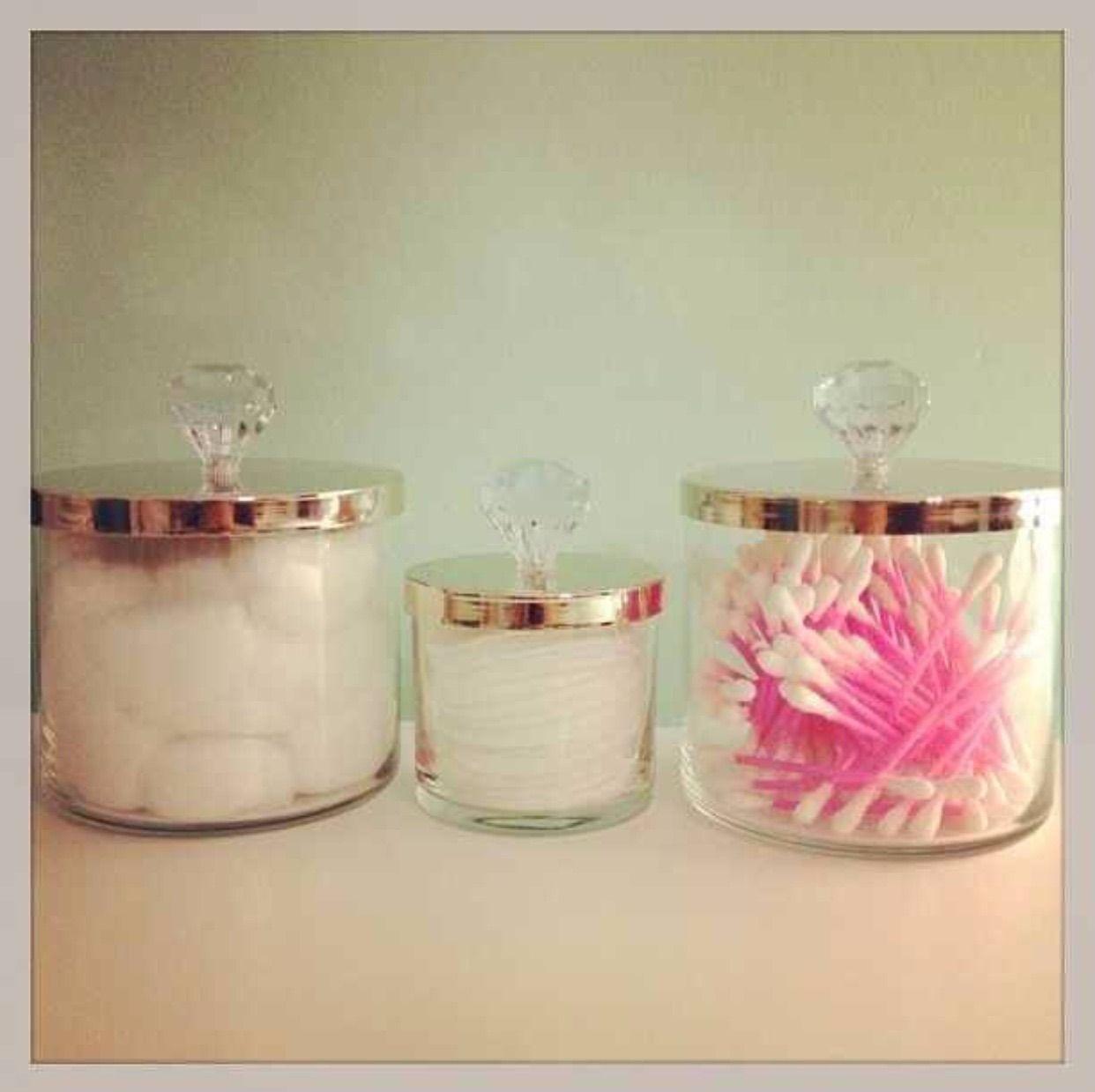 Pin by julie bines on bathroom candle jars jar bath