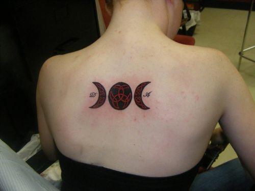 Celtic moon tattoo celtic knots inside moon triskele in the full moon tattoos maybe - Tatouage pleine lune ...