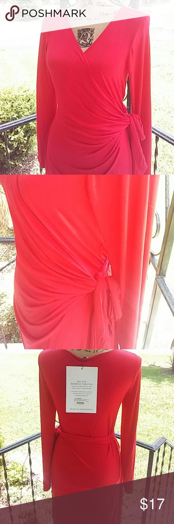Nwt hayden wrap dress nwt