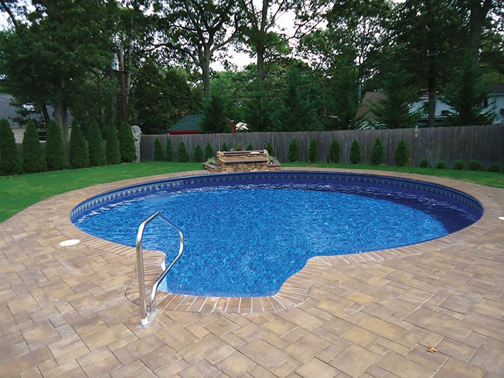 Inground Metric Round Pool With Walk In Step Incredible