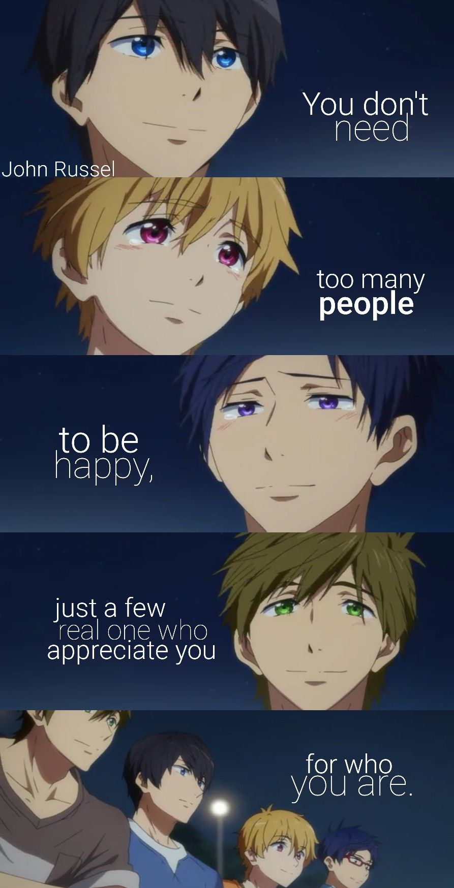 Pin by Toshiyuki Tsukiko on Anime Quotes in 2020 (With ...