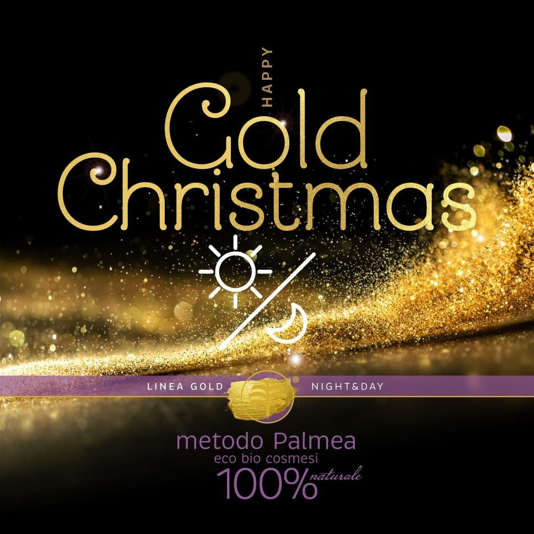 Photo of #Palmea wishes you a golden and shiny Christmas with the Linea …