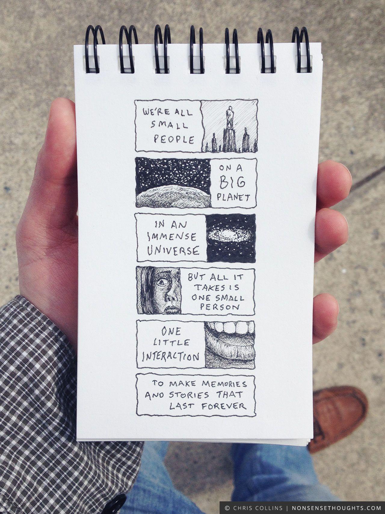 Nonsense Thoughts Chris Collins Creative Sketch Book Bullet Journal Art Art Journal Inspiration