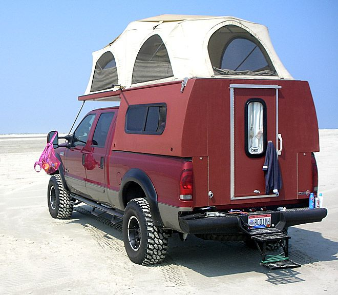 flip pac camper from starling travel starling travel. Black Bedroom Furniture Sets. Home Design Ideas