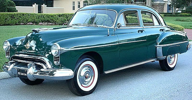 1950 Oldsmobile Eighty-Eight - Adler Green with Hydra-Matic Drive