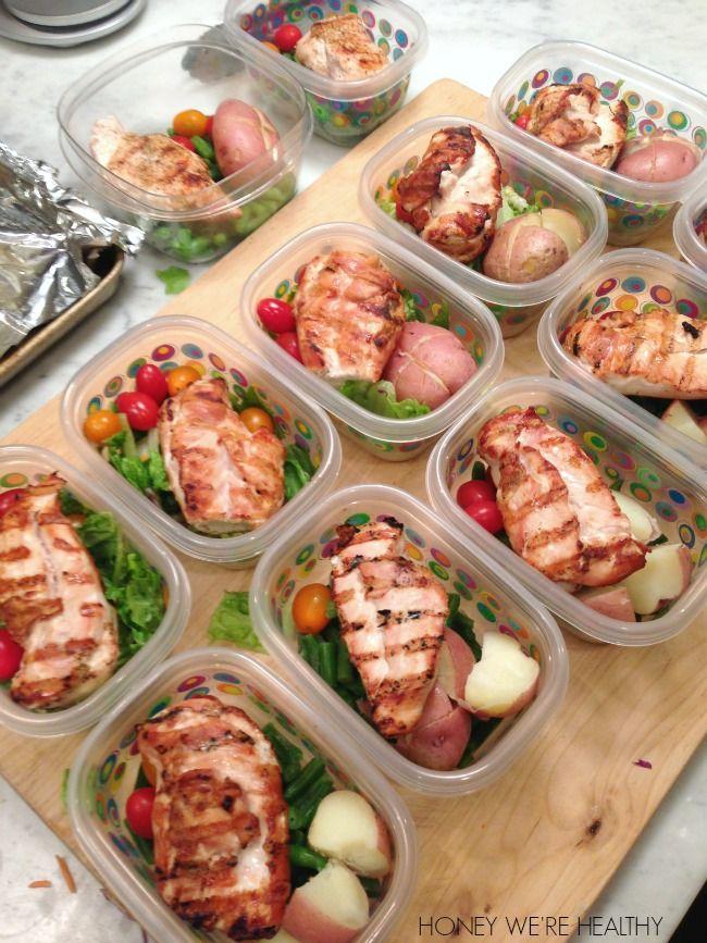 Healthy Meal Prep (Honey Weu0027re Healthy) Chicken sausage - prep cook
